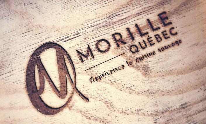 Branding pour l'entreprise Morille Québec, champignons sauvages, Saguenay