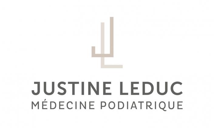 Logo Justine Leduc Médecine podiatrique