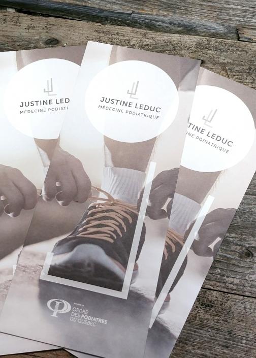 Flyers Justine Leduc