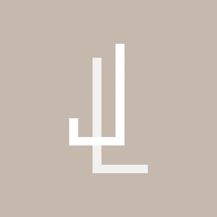 Logo Justine Leduc inversé