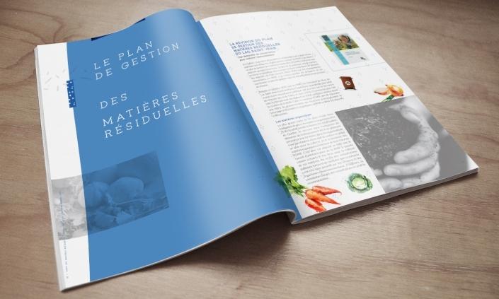 Rapport annuel RMR aperçu page
