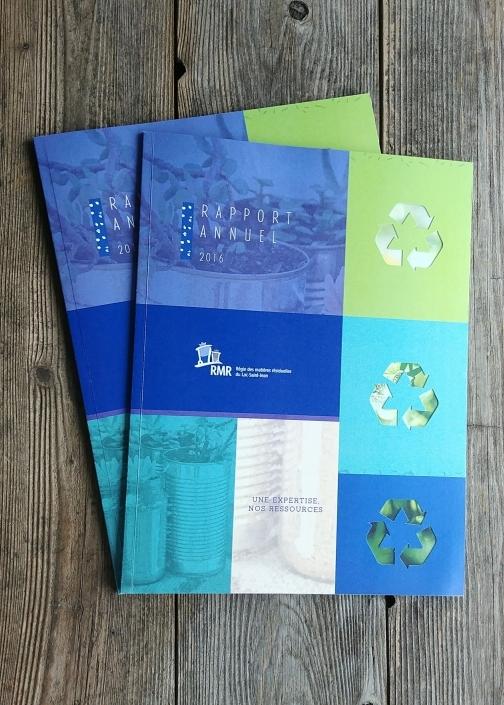 Rapport annuel RMR design couverture