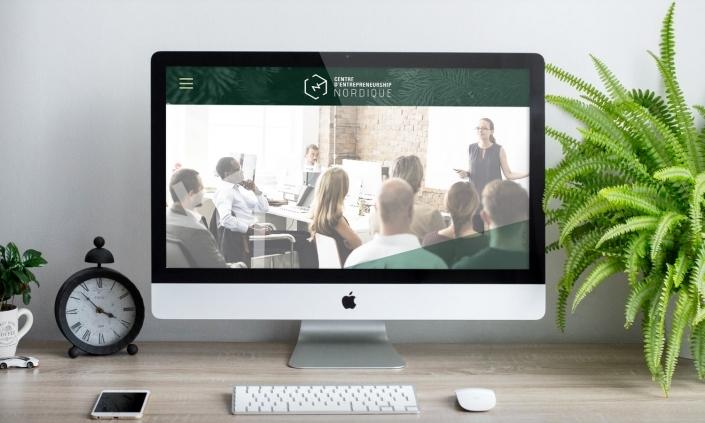 Aperçu design site web CEN