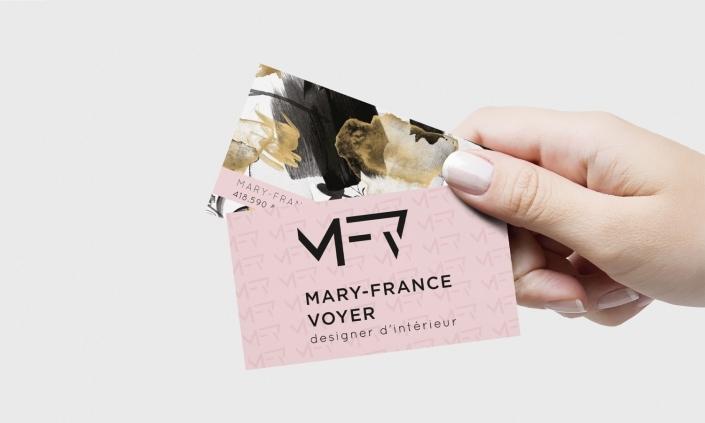 MARY-FRANCE VOYER | logo