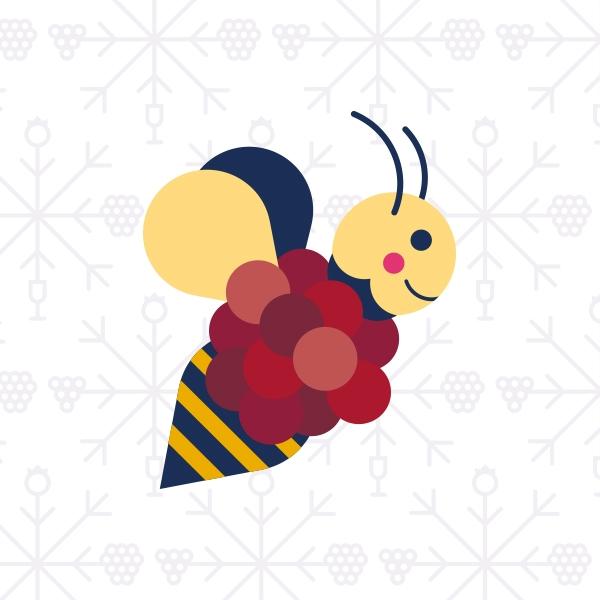 Domaine le Cageot   Illustration abeille